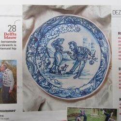 Delft blue courtship- hofmakerij