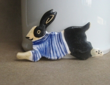 Bunny with stripes