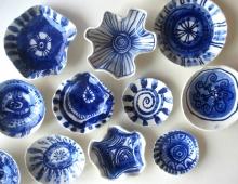 delft blauw mini schaaltje